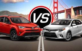 Нові Toyota Corolla та Toyota Rav4отримали 5 зірок у рейтингу європейської організації Euro NCAP