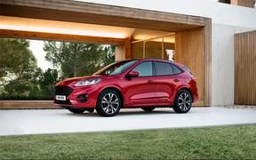 Новий Ford Kuga здобув максимальний 5-зірковий рейтинг безпеки