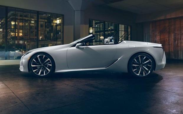 Новий концепт Lexus LC Convertible