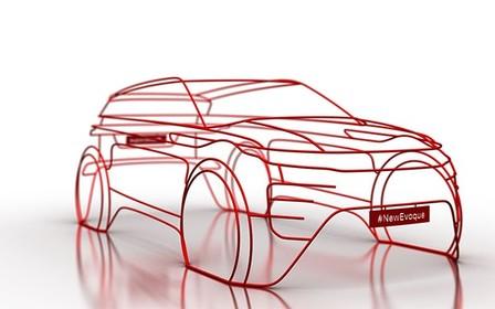 Новий Range Rover Evoque зворотній відлік до світової прем'єри