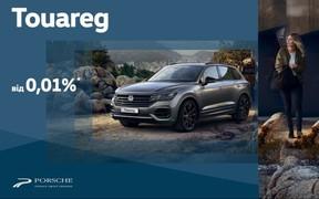 Новий Volkswagen Touareg з фінансуванням від 0,01% на перший рік та 0% адміністративною комісією