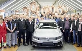 Новини Volkswagen: У квітні Passat подолав позначку в 30 мільйонів моделей!