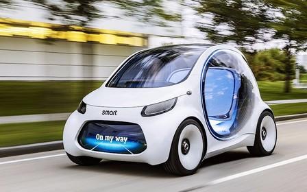 Новинкой Smart оказался концепт беспилотника