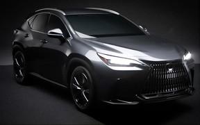 Новое поколение Lexus NX «нечаянно» рассекретили