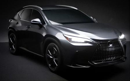 Нове покоління Lexus NX «випадково» розсекретили