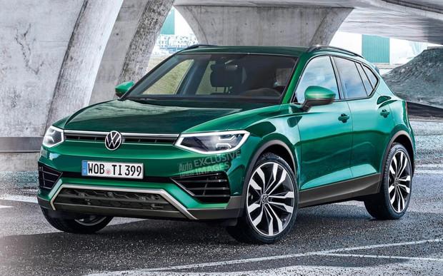 Новое поколение VW Tiguan дебютирует в 2022-м