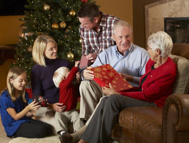 Новогодние подарки родителям