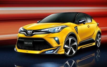 Новому Toyota C-HR добавили агрессии