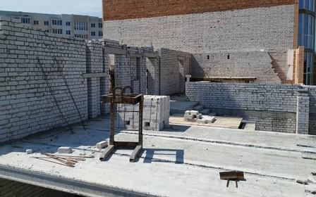 Новости со строительной площадки ЖК Лазурный (фото)