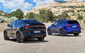 Новые BMW Х5 М и Х6 М. 290 км/ч и быстрее 4 секунд до сотни
