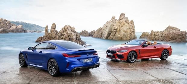 Новые BMW M8.