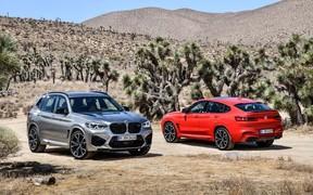 Новые BMW X3 M и X4 M не смогли «выехать» из четырех секунд