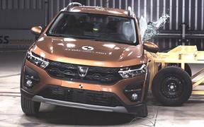 Новые Logan и Sandero StepWay завалили краш-тест Euro NCAP
