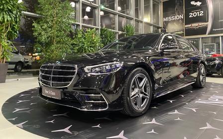 Новые Mercedes-Benz S-Class приехали в Украину
