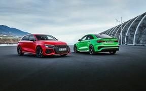 Новые RS3 и RS3 Sportback представили официально
