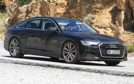 Новый Audi S6 проходит испытания перед скорой премьерой