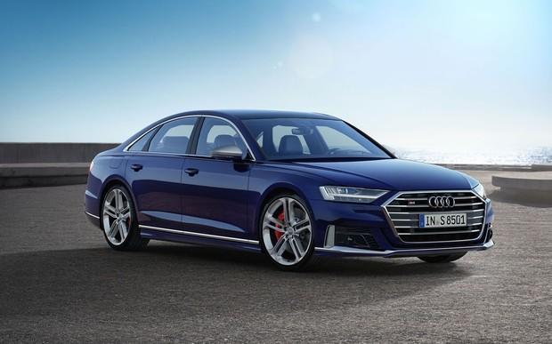Новый Audi S8 - захватывающая мощность в премиум-классе