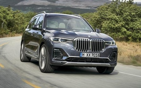 Новый BMW X7 показали американцам