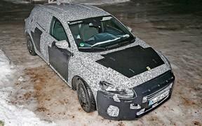 Новый Ford Focus выкатили на дорожные тесты