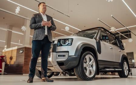 Новый Land Rover Defender привезли в Украину и начали принимать заказы
