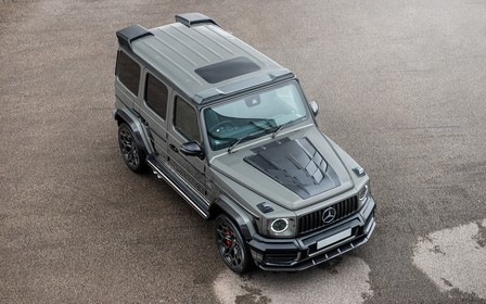 Новый Mercedes-AMG G63 от Kahn: можно взять только руль