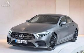 Новый Mercedes-Benz CLS рассекретили до премьеры