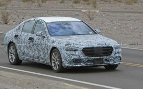 Новый Mercedes-Benz S-Class засняли на Нюрбургринге. ВИДЕО