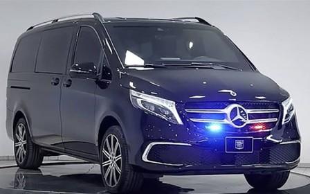 Новый Mercedes-Benz V-Class переделали в броневик