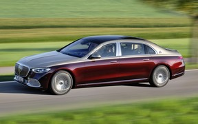 Новый Mercedes-Maybach S-класса на первых фото