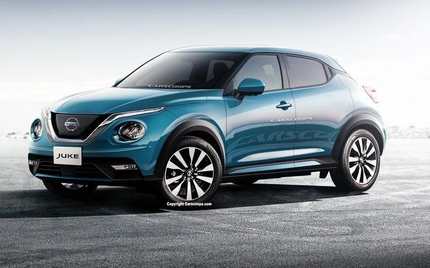 Новый Nissan Juke: дизайн и свежие подробности