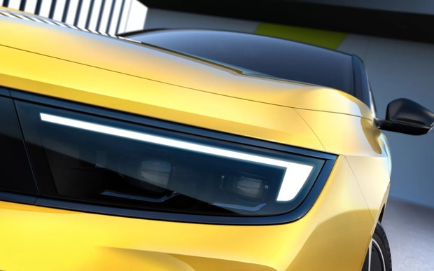 Новий Opel Astra показали на перших фотографіях