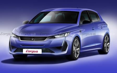 Новый Peugeot 308 станет намного агрессивней