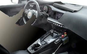 Новый Porsche 911: первые фото интерьера