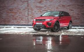 Новый Range Rover Evoque представят в следующем году