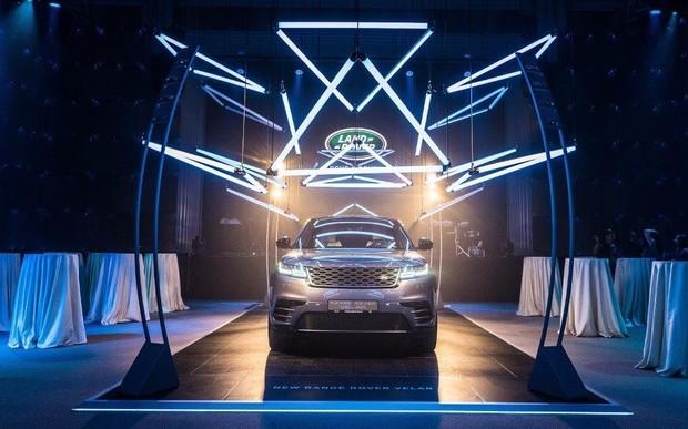 Новый Range Rover Velar презентовали в Украине