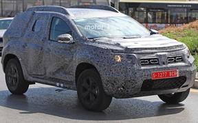 Новый Renault Duster уже проходит испытания