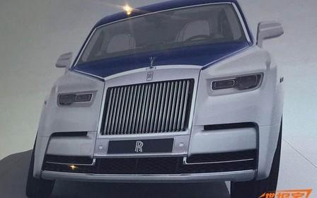 Новый Rolls-Royce Phantom рассекретили до премьеры