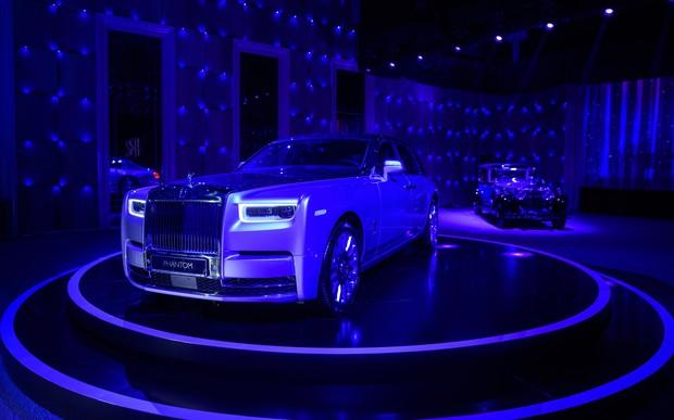 Новый «Rolls-RoycePhantom» дебютировал в Украине