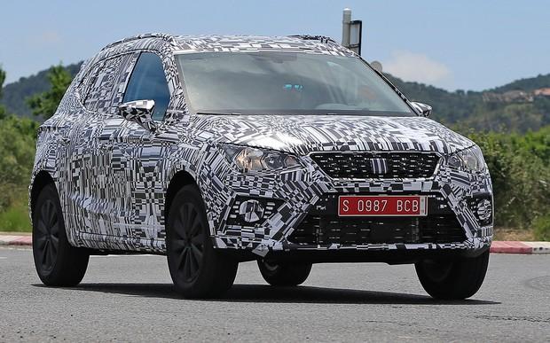 Новый SEAT Arona вывели на дорожные тесты