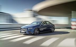 Новый седан Mercedes-AMG A 35 4Matic