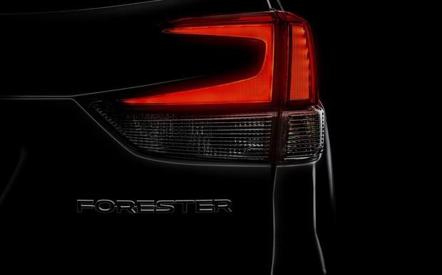 Новый Subaru Forester покажут через две недели