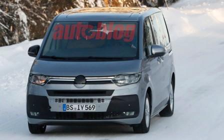 Новий Volkswagen Multivan - майже без камуфляжу