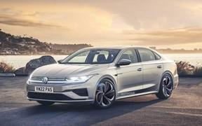Новый Volkswagen Passat получит электропривод и автопилот