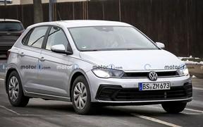 Новый Volkswagen Polo будет похож на Golf. Есть первые фото!