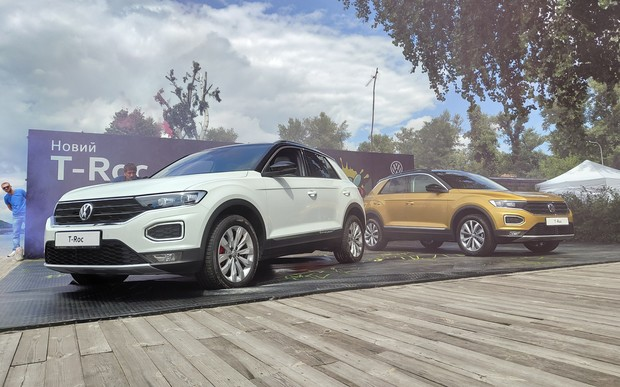 Новый Volkswagen T-Roc официально представили в Украине