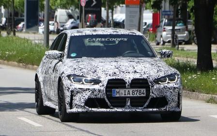 Нове покоління BMW M3 помітили на дорогах