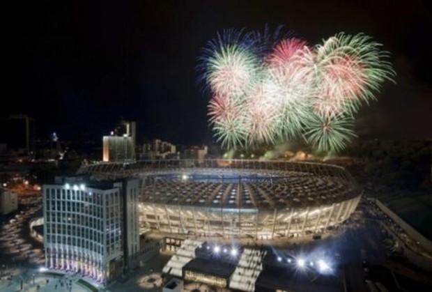 НСК «Олимпийский» «Шакировал» первых посетителей