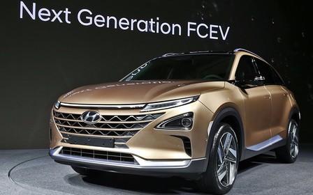 """Ну, FCEV: Hyundai презентует новое поколение """"водородного"""" кроссовера"""