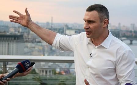 «Нужно ограничивать въезд в центр Киева», - мэр Кличко