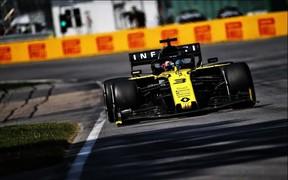 Оба болида Renault F1 Team набрали очки на Гран-при Канады